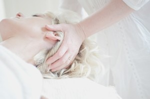 preparing for massage